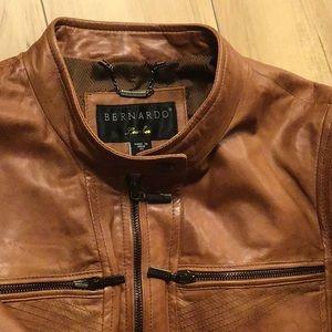 Bernardo leather jacket size 2X